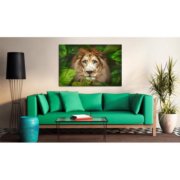 Tablou Eyes Of The Jungle 120 cm x 80 cm naturlich.ro