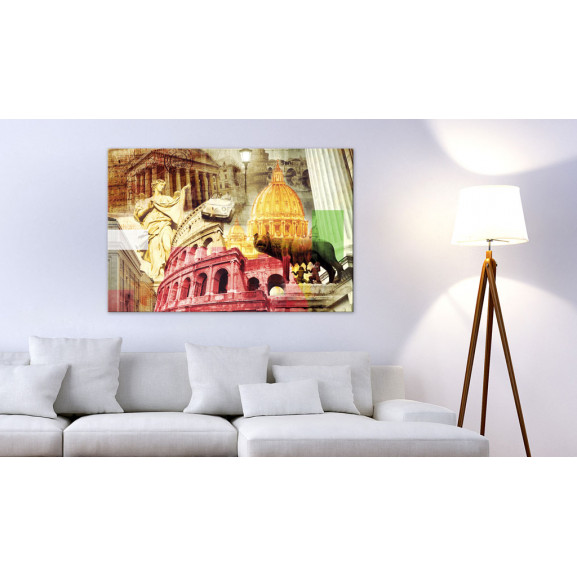 Tablou Charming Rome 120 cm x 80 cm naturlich.ro