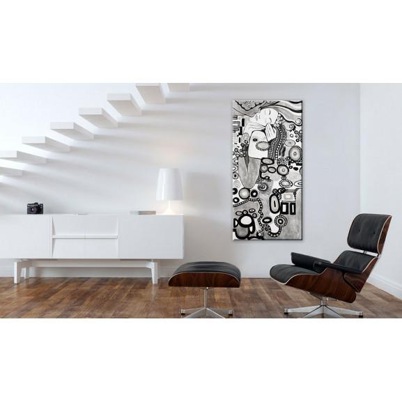 Tablou Silver Love 30 cm x 60 cm naturlich.ro