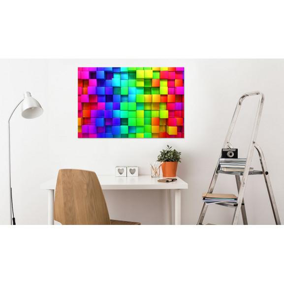 Tablou Colour Depth 120 cm x 80 cm naturlich.ro