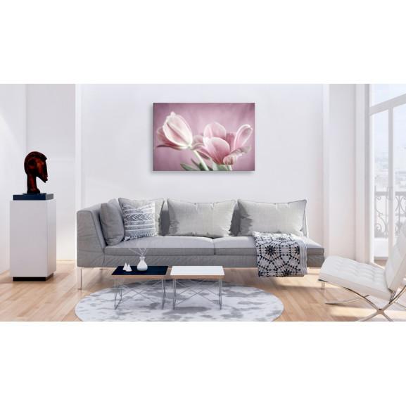 Tablou Romantic Tulips 120 cm x 80 cm naturlich.ro