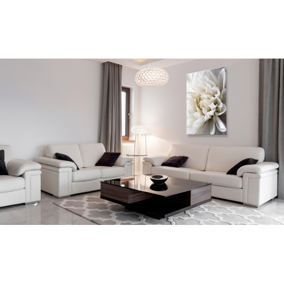 Tablou White Dahlia 40 cm x 60 cm naturlich.ro