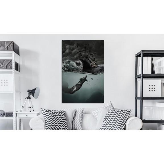 Tablou Secrets Of The Ocean 40 cm x 60 cm naturlich.ro