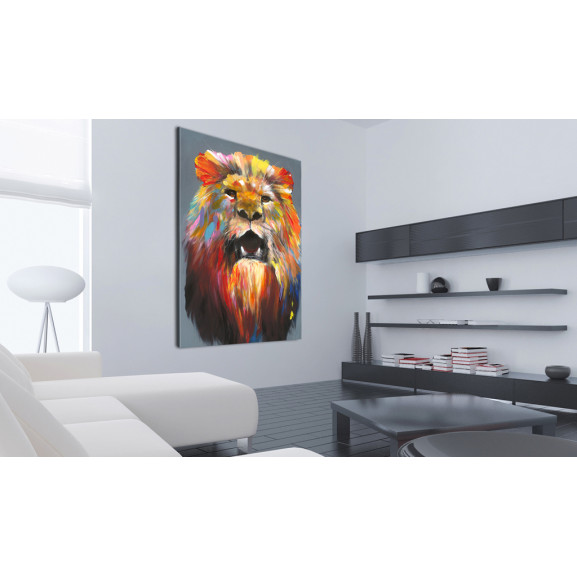 Tablou King Of Colours 40 cm x 60 cm naturlich.ro