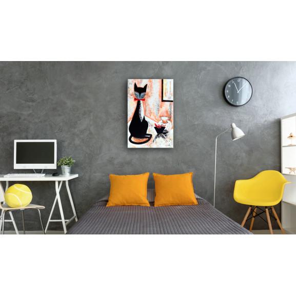 Tablou The True Gentleman 40 cm x 60 cm naturlich.ro