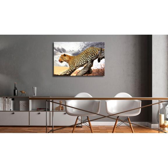 Tablou Predatory Stare 120 cm x 80 cm naturlich.ro