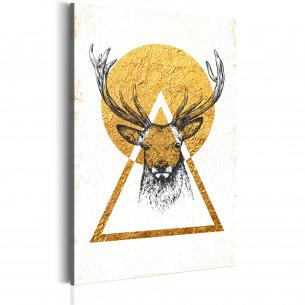Tablou My Home: Golden Deer...