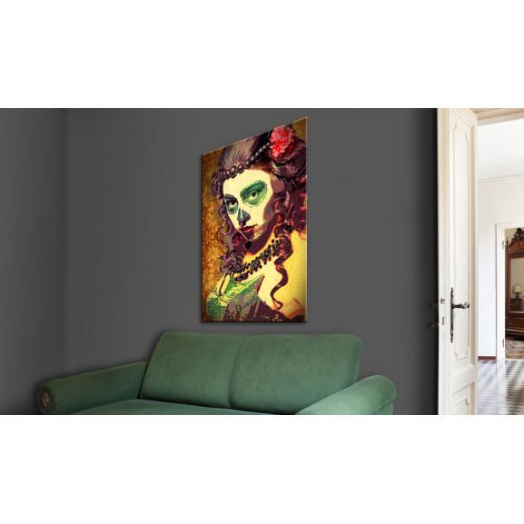 Tablou Mexican Skull 40 cm x 60 cm naturlich.ro