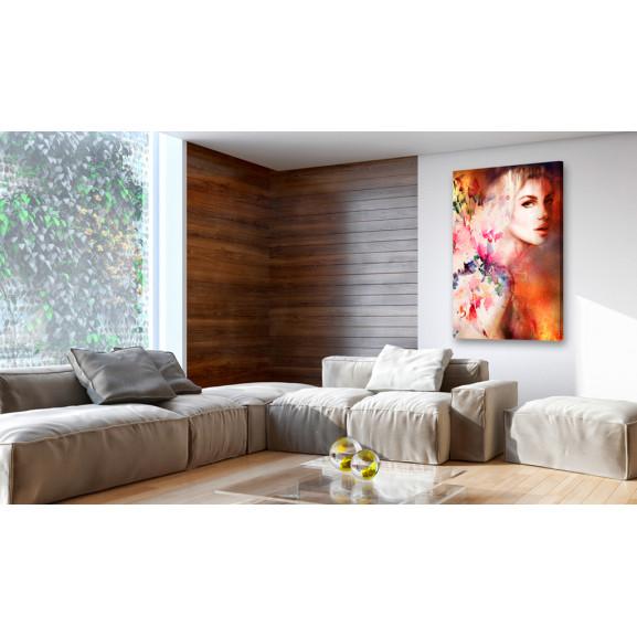 Tablou Goddess Of Elements 40 cm x 60 cm naturlich.ro