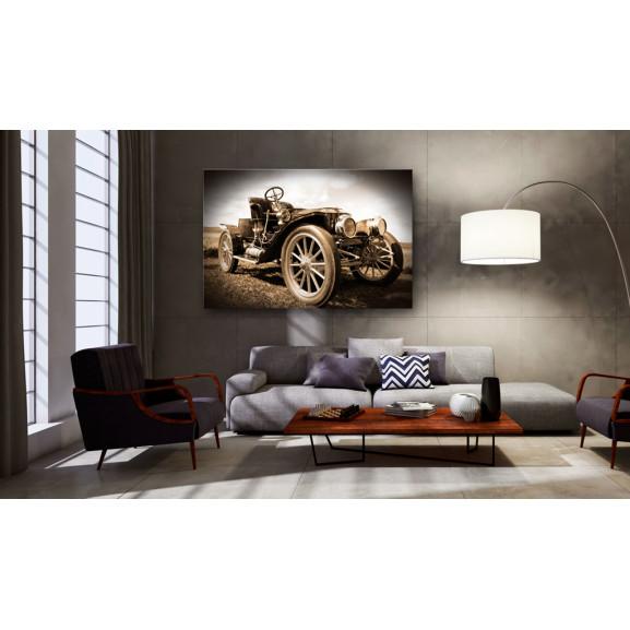 Tablou Retro Car 120 cm x 80 cm naturlich.ro
