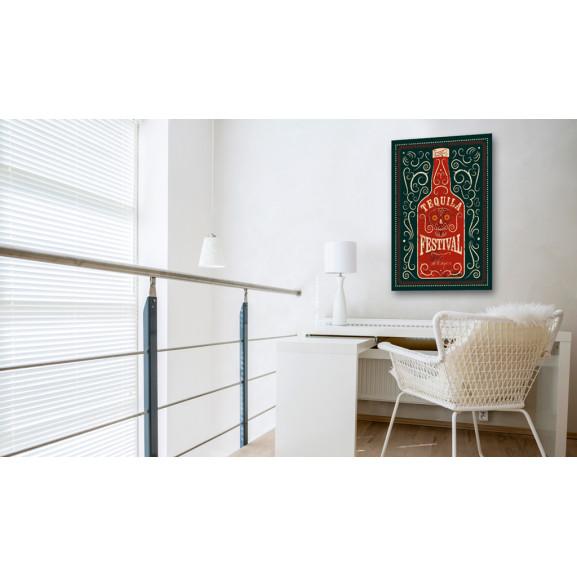Tablou Tequila Festival 40 cm x 60 cm naturlich.ro