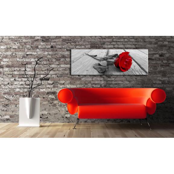 Tablou Carmine Rose 120 cm x 40 cm naturlich.ro