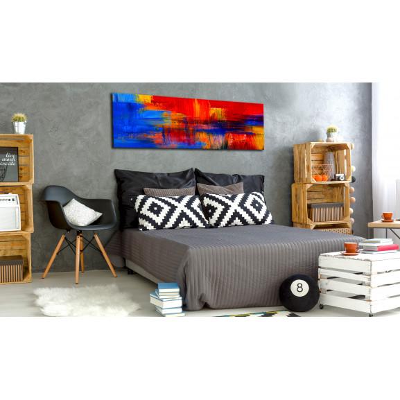 Tablou Colour Of Passion 120 cm x 40 cm naturlich.ro