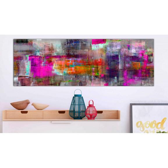 Tablou Land Of Colors 120 cm x 40 cm naturlich.ro
