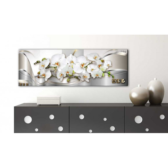 Tablou Orchids Ii 120 cm x 40 cm naturlich.ro
