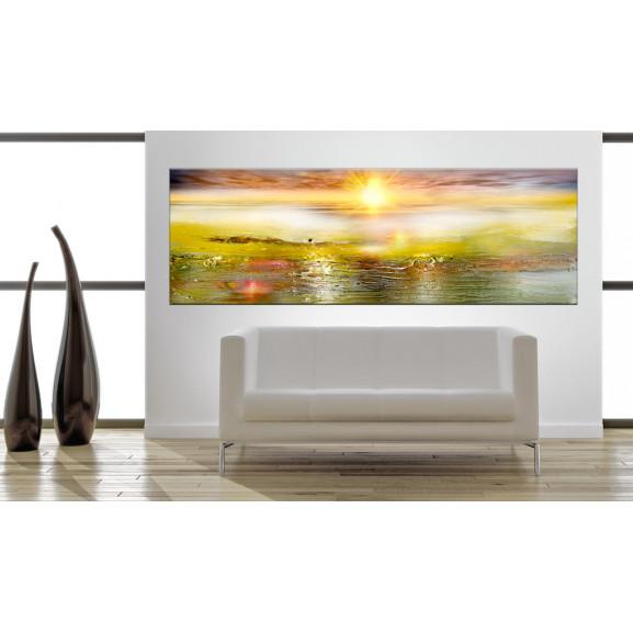 Tablou Sunny Sea 120 cm x 40 cm naturlich.ro