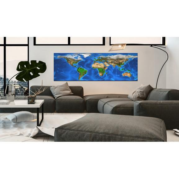 Tablou Magnificent World 120 cm x 40 cm naturlich.ro