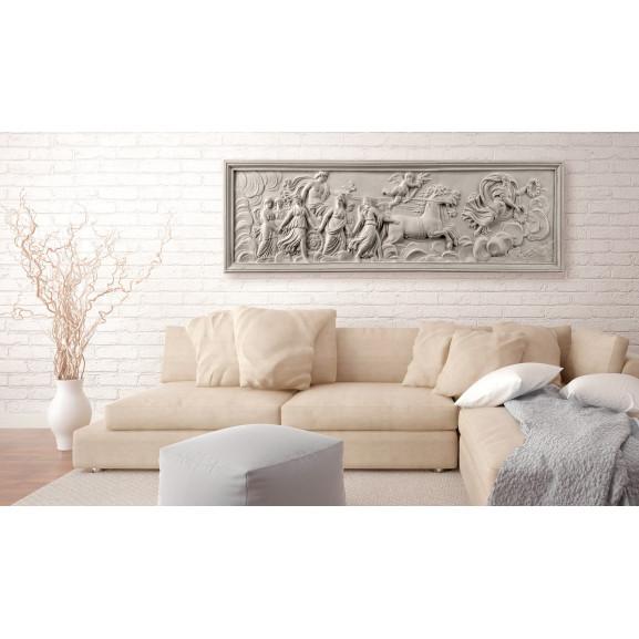 Tablou Relief: Apollo And Muses 120 cm x 40 cm naturlich.ro