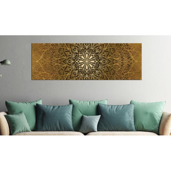 Tablou Golden Finesse 120 cm x 40 cm naturlich.ro