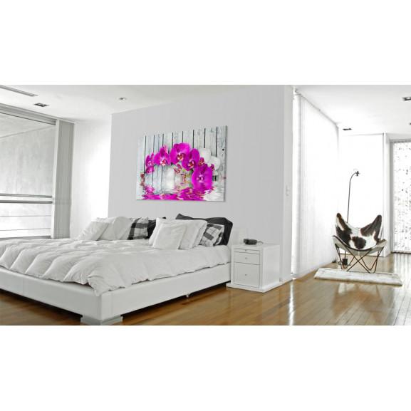 Tablou Harmony: Orchid 60 cm x 40 cm naturlich.ro