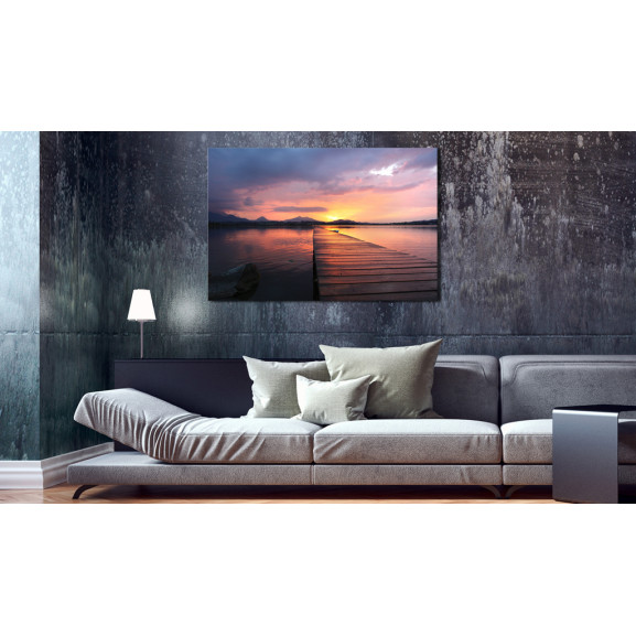 Tablou Bay Of Silence 60 cm x 40 cm naturlich.ro