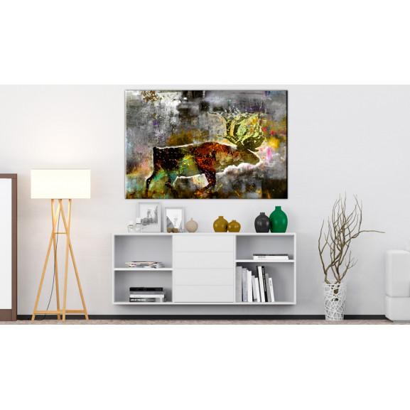 Tablou Emerald Caribou 60 cm x 40 cm naturlich.ro