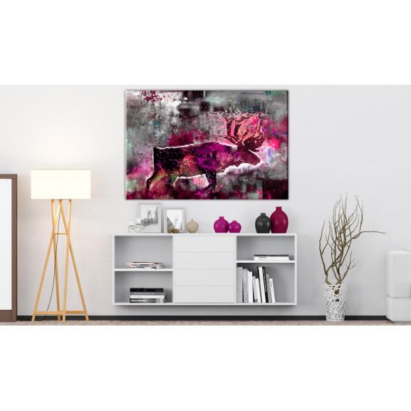 Tablou Ruby Caribou 60 cm x 40 cm naturlich.ro
