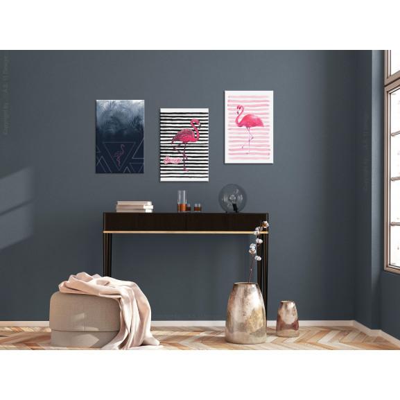 Tablou Flamingos (Collection) 120 cm x 60 cm naturlich.ro