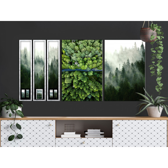 Tablou Forest (Collection) 120 cm x 60 cm naturlich.ro