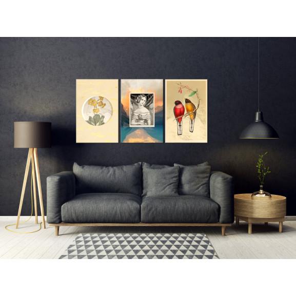 Tablou Retro (Collection) 120 cm x 60 cm naturlich.ro