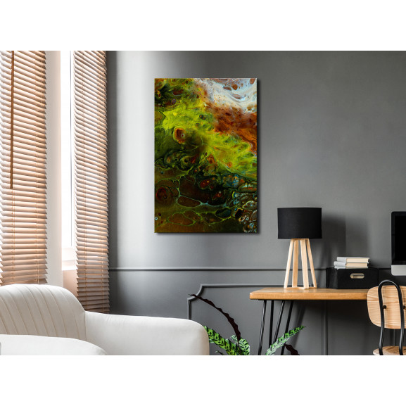 Tablou Green Elements (1 Part) Vertical 40 cm x 60 cm naturlich.ro