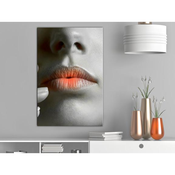 Tablou Hot Lips (1 Part) Vertical 40 cm x 60 cm naturlich.ro