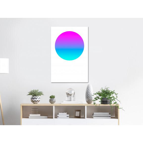 Tablou Colourful Circle (1 Part) Vertical 40 cm x 60 cm naturlich.ro