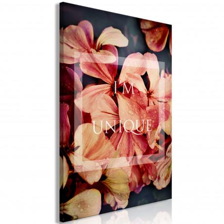 Tablou I'M Unique (1 Part) Vertical 40 cm x 60 cm-01