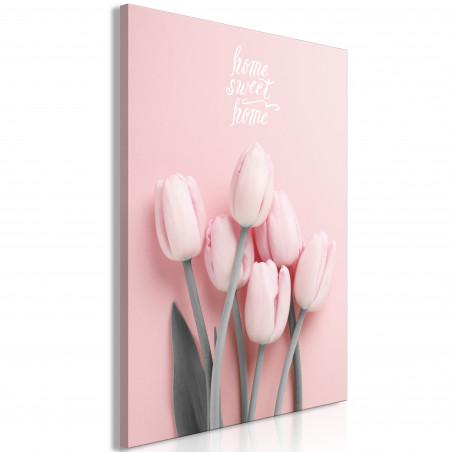 Tablou Six Tulips (1 Part) Vertical 40 cm x 60 cm-01