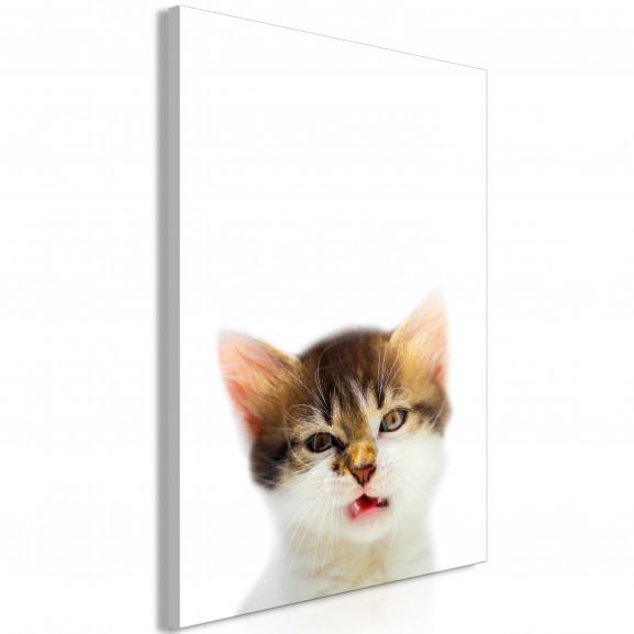 Tablou Vexed Cat (1 Part) Vertical 40...