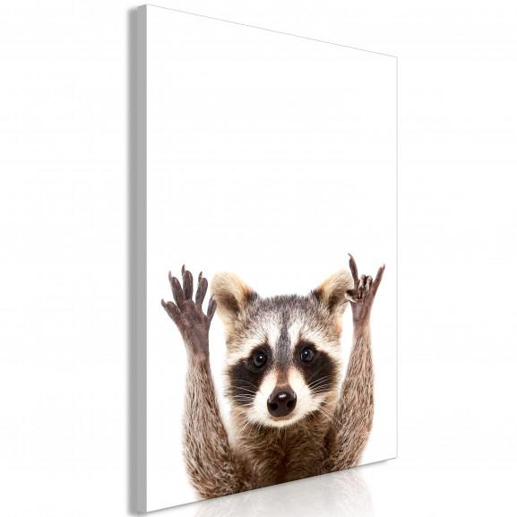 Tablou Raccoon (1 Part) Vertical 40...
