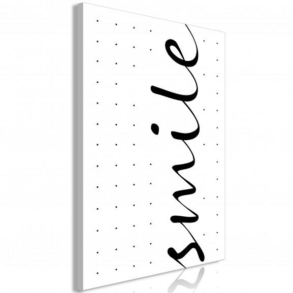 Tablou Black And White: Smile (1...