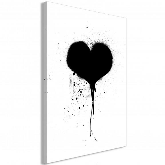Tablou Destroyed Heart (1 Part)...