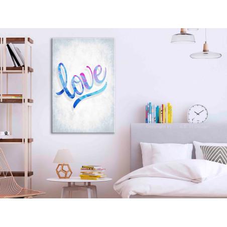 Tablou Love (1 Part) Vertical 40 cm x 60 cm-01
