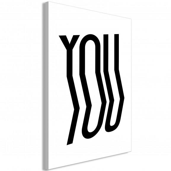 Tablou You (1 Part) Vertical 40 cm x...