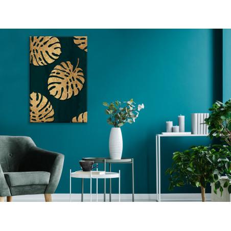 Tablou Leaves Of Luxury (1 Part) Vertical 40 cm x 60 cm-01