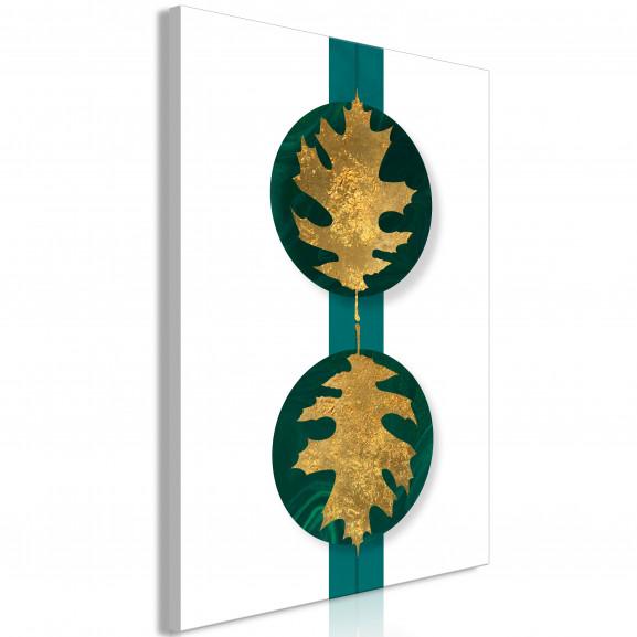 Tablou Green Wealth (1 Part) Vertical...