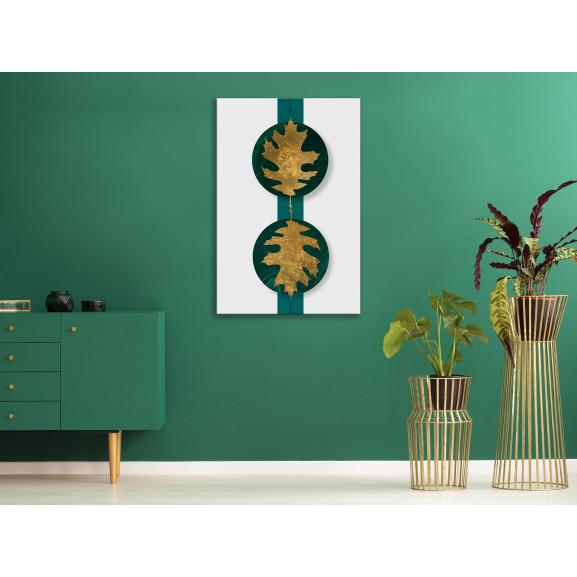 Tablou Green Wealth (1 Part) Vertical 40 cm x 60 cm naturlich.ro
