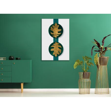 Tablou Green Wealth (1 Part) Vertical 40 cm x 60 cm-01