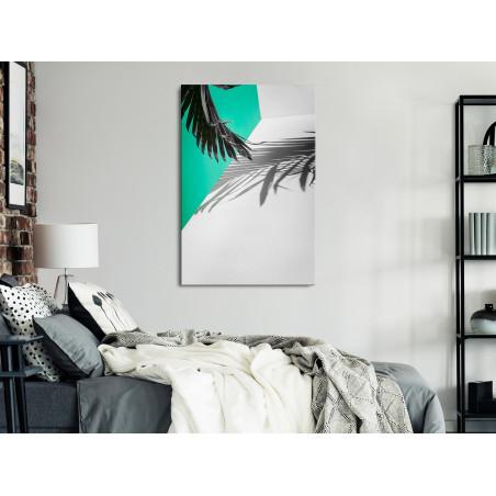 Tablou Twig Shadow (1 Part) Wide 120 cm x 80 cm-01