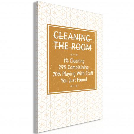 Tablou Cleaning Room (1 Part) Vertical 40 cm x 60 cm-01