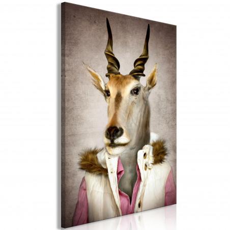Tablou Antelope Jessica (1 Part) Vertical 40 cm x 60 cm-01
