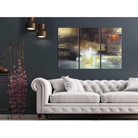 Tablou Breath Of Luxury (3 Parts) 120 cm x 80 cm-01