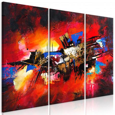 Tablou Colours Of Childhood (3 Parts) 120 cm x 80 cm-01